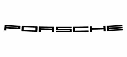 """Picture of Porsche 911 / STR   engine lid 33"""" Decal / Sticker"""