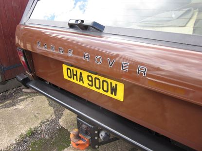 Picture of Range Rover Classic Mk1 Rear & Bonnet restoration Decals / Stickers