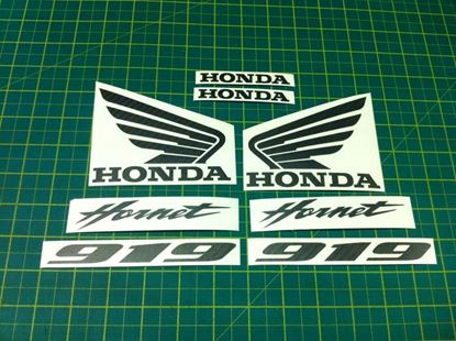 Picture of Honda 919 Hornet  Carbon Fibre replacement Decals / Stickers