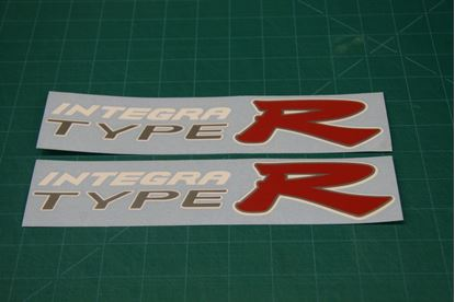 Picture of Honda Integra Type R DC5  replacement side Decals / Stickers