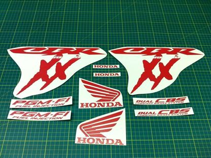 Picture of Honda CBR Super Blackbird 2002 - 2004 full replacement  Decals / Stickers