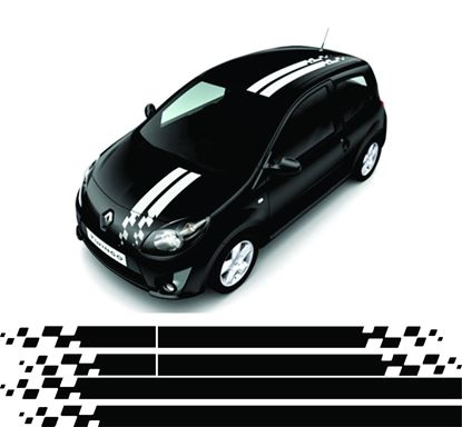 Picture of Renault Twingo OTT Stripes / Stickers