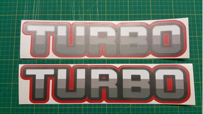 Picture of Nissan Patrol / Safari / Ebro Turbo replacement Decals Stickers