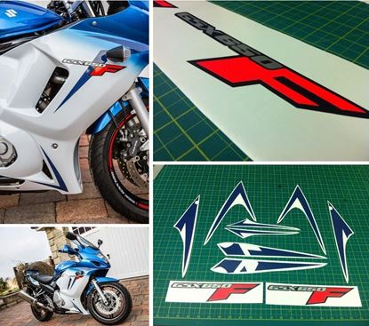 Picture of Suzuki GSXF GSX 650F Replacement Decals Stickers kit