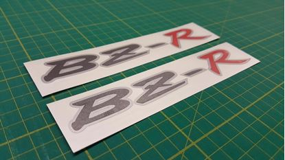 Picture of Toyota corolla AE111 Levin Trueno BZ-R replacement rear Decals / Stickers