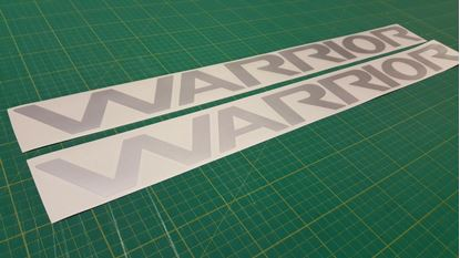 Picture of Mitsubishi L200 Warrior replacement Decals / Stickers