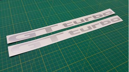 Picture of Toyota Starlet Glanza GT Turbo V 5 EP91 / EP82 side door Decals / Stickers