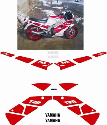 Picture of Yamaha TZR 125 1989 on Full Restoration Decals / Stickers
