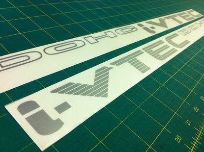 Picture of Honda Accord K Series EX  CG6 K20 K24  I-Vtec DOHC  Side replacement Decals Stickers