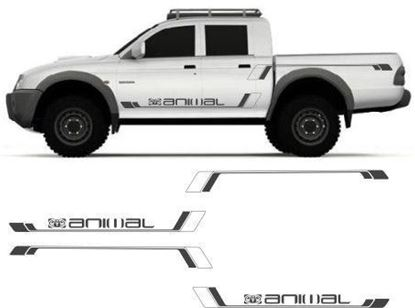 Picture of Mitsubishi L200  Animal side Graphics / Stickers
