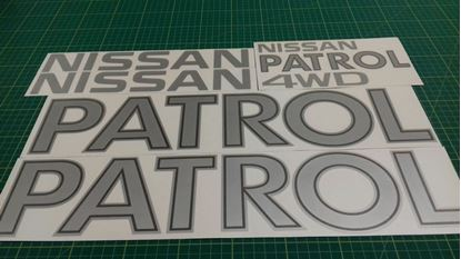 Picture of Nissan Patrol Replacement  Decals / Stickers