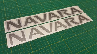 Picture of Nissan Navara  Decals / Stickers