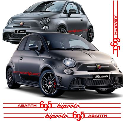 Picture of Fiat 695 biposto side Stripes / Stickers