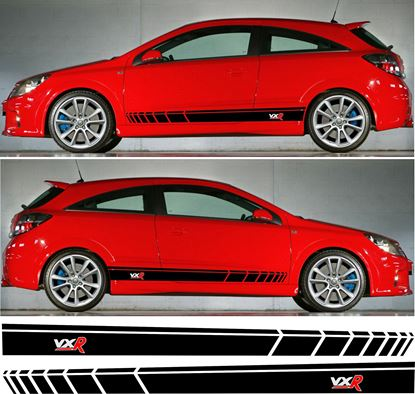 Picture of Vauxhall Astra H VXR Stripes / Stickers