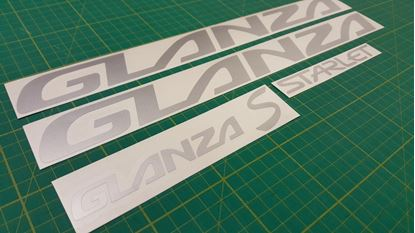 Picture of Toyota Starlet Glanza S  replacement Decals / Stickers