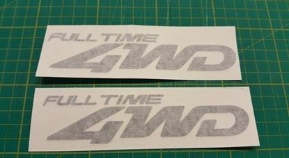 Picture of Mazda Friendee Bongo rear replacement 4WD Decals