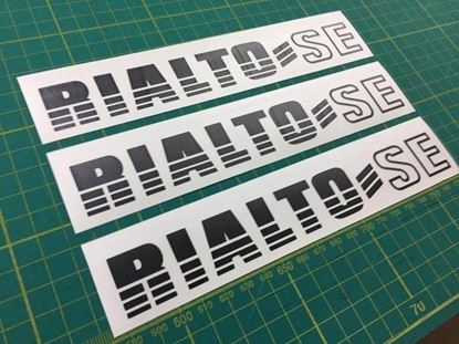 Picture of Reliant Rialto SE replacement Decals / Stickers