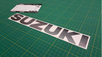 Picture of Suzuki Jimny 4x4 rear wheel cover or generic Decal / Sticker