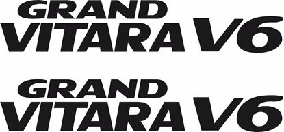 Picture of Suzuki Grand Vitara V6 replacement rear quarter Decals / Stickers