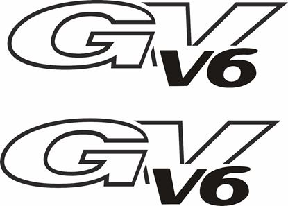 Picture of Suzuki Grand Vitara v6  rear quarter / side Decals Stickers