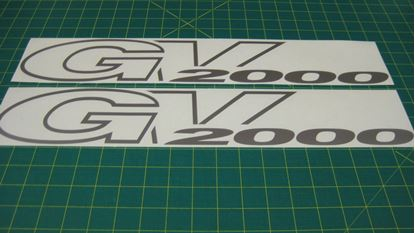 Picture of Suzuki Grand Vitara 2000 replacement rear quarter Decal / Stickers