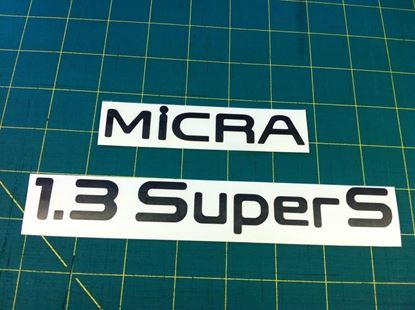 Picture of Nissan Micra MK2 K11 1.3 Super S March replacement decals / Stickers