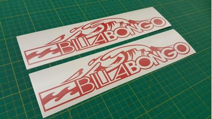"Picture of Mazda Friendee Bongo  ""Billabongo"" Decals / Stickers"