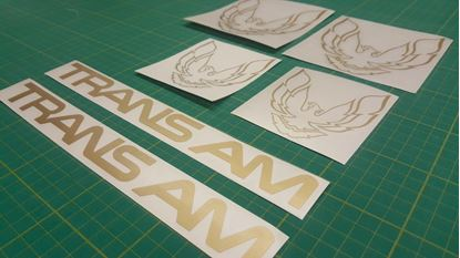 Picture of Trans AM Firebird restoration Decal / Sticker set