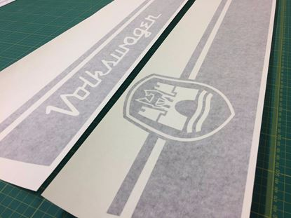 Picture of Classic MK1 Beetle Wolfsburg side Stripes / Stickers