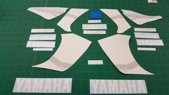 Picture of Yamaha YZF Thundercat 600R 2002 - 2003 replacement Decals / Stickers