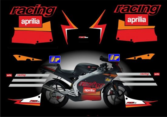 Picture of Aprilia classic RS50 2002 Replacement Decals / Stickers