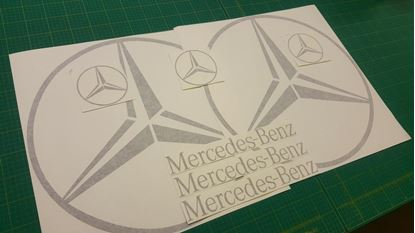 Picture of Mercedes Sprinter / Viano / Vito custom Decals  / Stickers