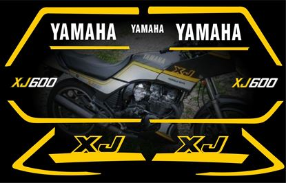 Picture of Yamaha XJ600 Replacement Decals / Stickers