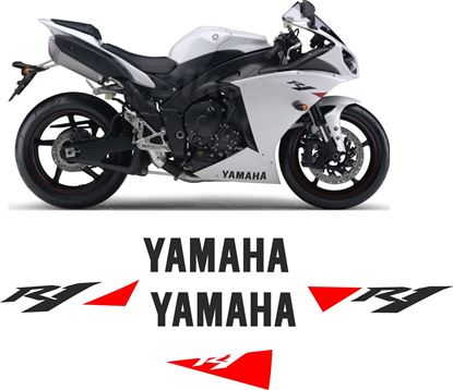 Picture of Yamaha YZF R1 2010 replacement Decals / Sticker