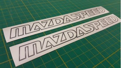 Picture of Mazda Speed Decals / Stickers