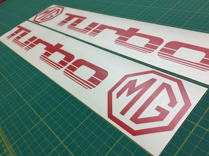 Picture of MG Montego / Metro Turbo replacement lower side door Decals / Stickers