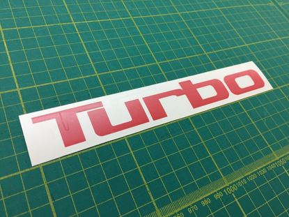 Picture of MG Montego / Metro Turbo  Bonnet  replacement Decal / Sticker