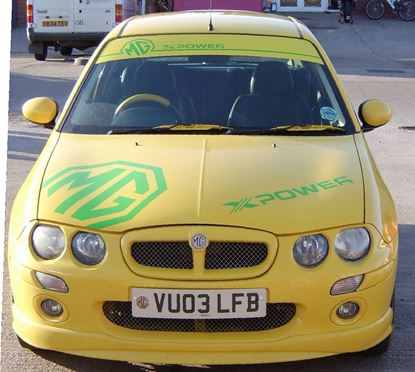 Picture of MG Rover  25 / 200 / 75 ZR / ZT / ZS  Sun Strip / Visor