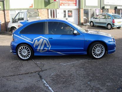 Picture of MG Rover  25 / 200 / 75 ZR / ZT / ZS side Graphics  / Stickers