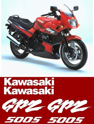 Picture of Kawasaki GPZ 500S  replacement Decals / Stickers