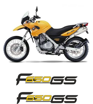 Picture of BMW F 650 GS  2000-  2002 Replacement Decals / Stickers