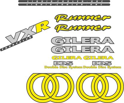 Picture of Gilera Scooter VXR Runner replacement Decals / Stickers