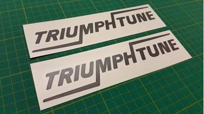 Picture of TRIUMPH Tune TR7 TR8 Spitfire sprint Dolomite TR4 TR5 Herald replacement Decals Stickers