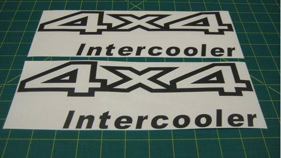 Nissan Terrano QX4 side decals stickers graphics restoration replacements