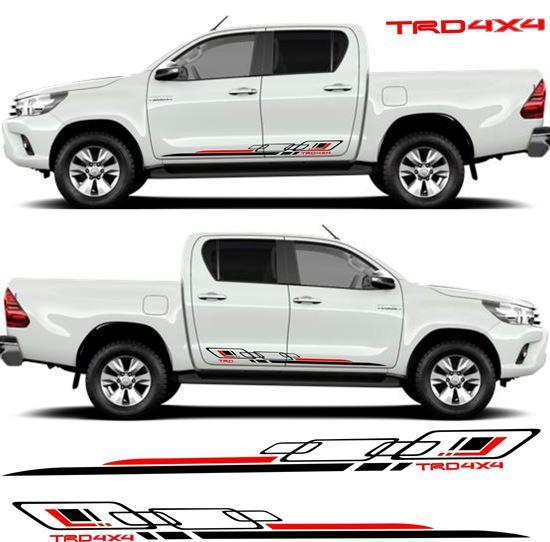 Zen Graphics Toyota Hilux Mk6 7 8 Quot Trd 4x4 Quot Side