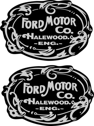 Picture of Ford Classic / Vintage general panel Decals / Stickers