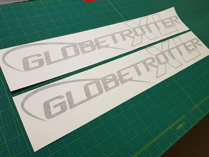"Picture of Volvo ""Globetrotter XL"" top side Decals / Stickers"