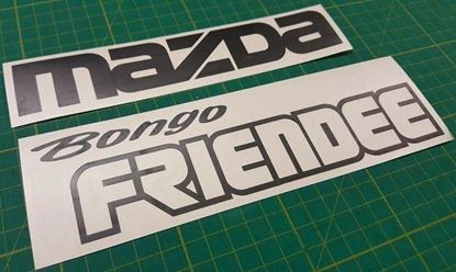 Picture of Mazda Friendee Bongo replacement rear Decals / Stickers