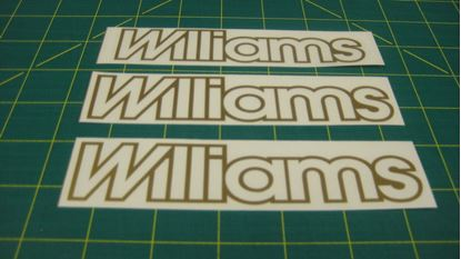 Picture of Renault Clio Williams 1990 - 1994 replacement Decals / Stickers