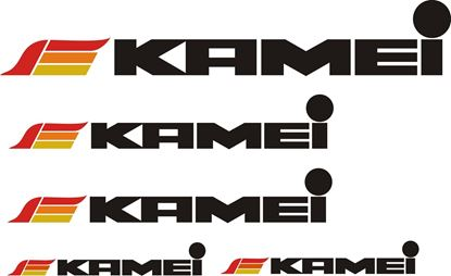 Picture of Kamei Decals / Sticker set CHOOSE COLOUR